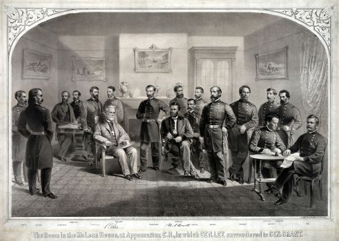 Lee_Surrenders_to_Grant_at_Appomattox, wiki