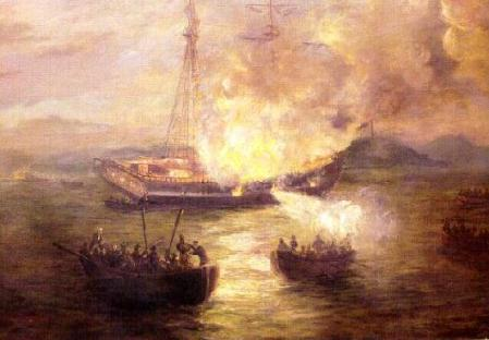 Burning of Gaspee, gaspee.com