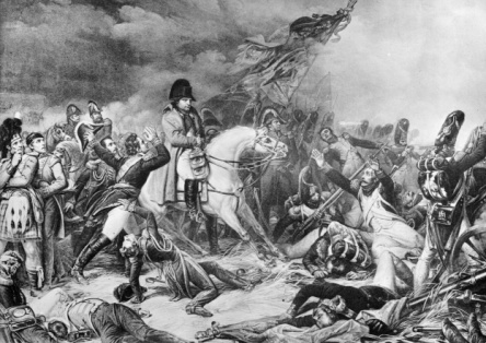 Napoleon at Waterloo, Hulton Archive, Getty Images, 6-13-16