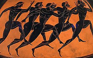 Ancient Olympics 2, Runners, quatr.us